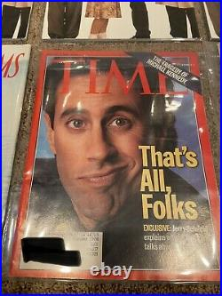 12 Collectors Magazines Seinfeld Entertainment Peoples Rolling Stones Like New