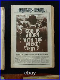 1971 Nov 11 & 25 Rolling Stone Magazine Fear And Loathing 2pk #95, #96 (a100)