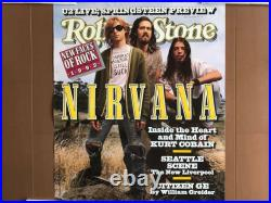 1992 Rolling Stone Magazine Nirvana Cover For Promo Posters Vintage Original