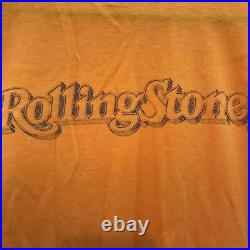 80'S Vintage Rolling Stone Magazine T-Shirt 50/50 Muddy Waters