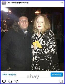 Adele Signed Rolling Stone Magazine Jennifer Lawrence Olivia Rodrigo Madonna