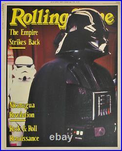 Aust. Rolling Stone magazine Star Wars Empire Strikes Back 1980 promo poster