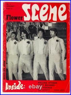 BEATLES Rolling Stones THE FOOL Peter Frampton DOORS Flower Scene magazine No. 4