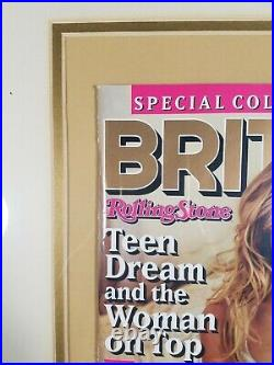 BRITNEY SPEARS Rolling Stone Magazine SPECIAL Collectors Edition 82PG WithPOSTER