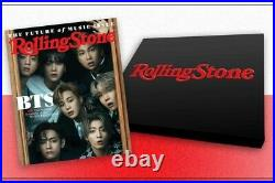 BTS Rolling Stone Collectors Box Set (SEALED NEW) JUNE 20218 MAGAZINES