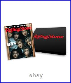 BTS Rolling Stone June 2021 Special Collector's Box Set GLOBAL SHIPPING PREORDER