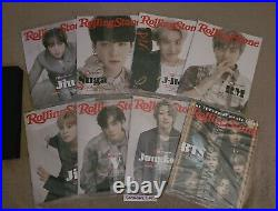 BTS Rolling Stone June 2021 Special Collector's Edition Box Set All 8 Covers NEW