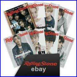BTS Rolling Stone June 2021 Special Collectors Box Set 8 Covers NEW SHIPSTODAY