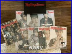 BTS Rolling stone American member + individual 8 book set with box