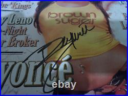 Beyonce Signed/autographed Rolling Stone Magazine
