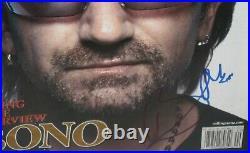 Bono Signed U2 Rolling Stone Magazine Classic Rock Autograph Proof Jsa Loa