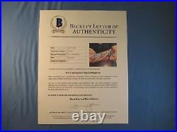 Bruce Springsteen Signed Rolling Stone Magazine BAS COA LOA Autograph #A11665
