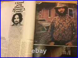 Charles Manson Argosy, Rolling Stone and Good Times Magazines/Newspapers