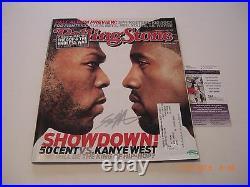 Curtis Jackson 50 Cent Rapper, Musician Jsa/coa Signed Rolling Stone Magazine