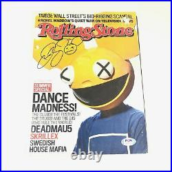 DEADMAU5 Signed Rolling Stones Magazine PSA/DNA Autographed DJ