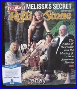 David Crosby CSN Signed Autographed Rolling Stone Magazine Beckett Certified F8
