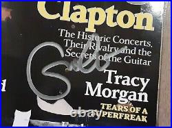 Eric Clapton Autographed Signed March 2010 Rolling Stone Magazine No Label Rare