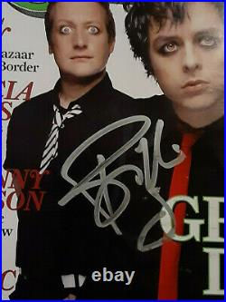 Green Day Autographed Signed 3 Sigs. February 24th 2005 Rolling Stone Magazine