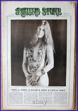 JANIS JOPLIN, ROLLING STONE #102 FEB 17, 1972 Museum Quality