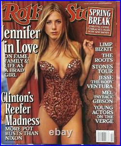 JENNIFER ANISTON ROLLING STONE Mag March 4,1999 HIGH GRADE No Label