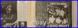 JIMI HENDRIX Johnny Winter CARL PERKINS Rolling Stone magazine 23 December 1968