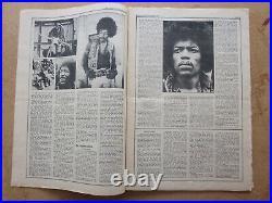 JIMI HENDRIX, Rolling Stone #68 Oct 15, 1970 Museum Quality