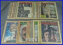 Jann Wenner / Incomplete run of Rolling Stone magazine from 1976-23 issues