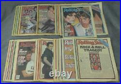 Jann Wenner / Near complete run of Rolling Stone magazine from 1980 24 issues