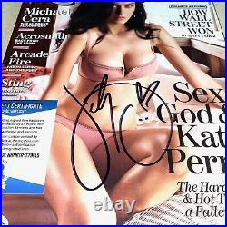 KATY PERRY signed autographed ROLLING STONE MAGAZINE BECKETT BAS COA T79145