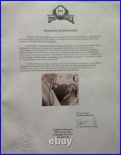 Katy Perry American idol signed Rolling Stone Magazine framed auto COA 21x18