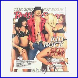 Kid Rock Signed Rolling Stones Magazine PSA/DNA Autographed Musician