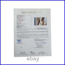 Lady Gaga Signed 2011 Rolling Stone Magazine No Label Jsa Loa Monster Joanne
