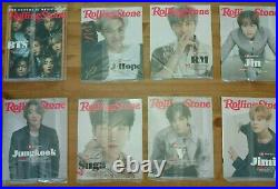 NEW BTS Rolling Stone Box Set Boxset BTS Collector's Edition June 2021 8 covers