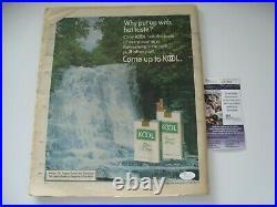 Peter Frampton Autographed Signed Rolling Stone Original Magazine JSA #S70364