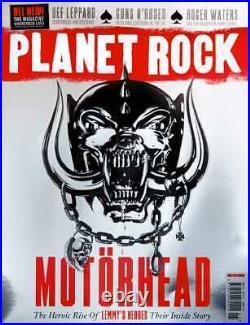 Planet Rock Magazine Issue 1 Motörhead Steven Tyler Def Leppard Guns N Roses