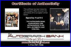 Proof of D12 signed Rolling Stone Magazine WithCert Autograph (Authenticated)