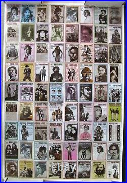 RARE 1970's Promotional Poster for ROLLING STONE MAGAZINE