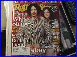 RARE White Stripes Signed Rolling Stone Magazine Signed Boldly by Jack & Meg
