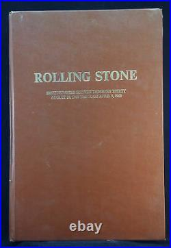 ROLLING STONE MAGAZINE Bound Vol. 2 RS #16 (08-24-68) to RS #30 (04-05-69)