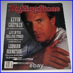 Rare KEVIN COSTNER signed ROLLING STONE MAGAZINE PROOF Field Of Dreams COA