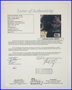 Roger Waters Floyd Signed Autographed Rolling Stone Magazine Sept 2010 JSA