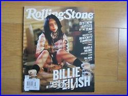 RollingStone Magazine Billie Eilish Autumn / Winter New
