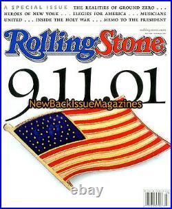 Rolling Stone 10/01, September 11, 2001,9/11/01, October 2001, New York Heroes, NEW