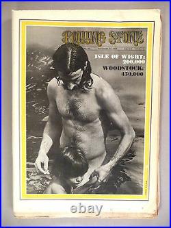 Rolling Stone #42 September 20, 1969 UK Edition Woodstock covered