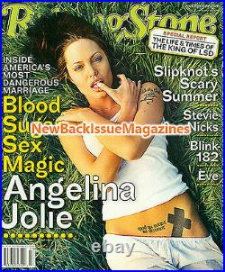 Rolling Stone 7/01, Angelina Jolie, Stevie Nicks, Eve, Blink-182, NEW