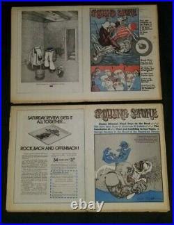 Rolling Stone #95 & 96 Nov 1971 Fear & Loathing in Las Vegas Hunter S Thompson