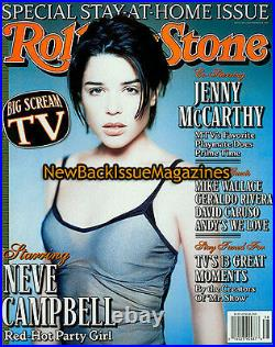 Rolling Stone 9/97, Neve Campbell, Jenny McCarthy, David Caruso, September 1997, NEW