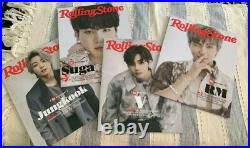 Rolling Stone Bts Collectors Edition Box Set-8 Different Covers In Hand Sealed