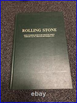 Rolling Stone Issue Numbers Seventy-Six Through Ninety Feb 18,- Sept 2, 1971
