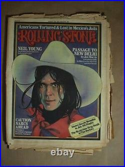 Rolling Stone Magazine # 193 August 14 1975 Neil Young (Single Back Issue), Ac